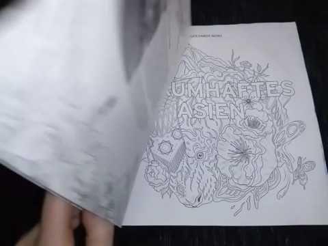 Traumhaftes Asien Chatchanok Wong Coloring Book Flip Trough Youtube Coloring Books Books Color