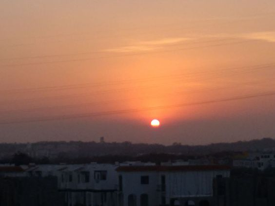 Orange sunset by M ReyesPimentel on 500px