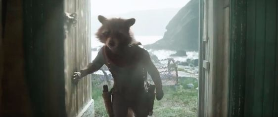Where is Rocket Raccoon in Avengers: Endgame?