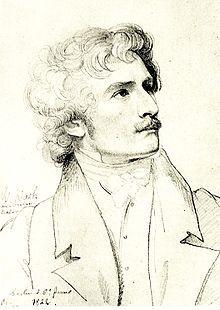 1822. Karl Wilhelm Wach. *Artist: Carl Christian Vogel von Vogelstein