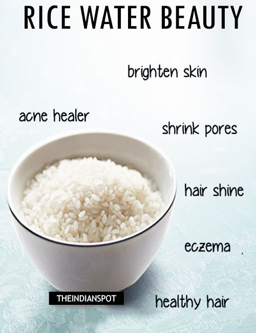 Rice Water Is One Of The Beauty Secrets Of Japanese Women Their Clean And Shiny Skin Is So Adorable And We Wou Anti Aging Skin Products Skin Care Organic Skin