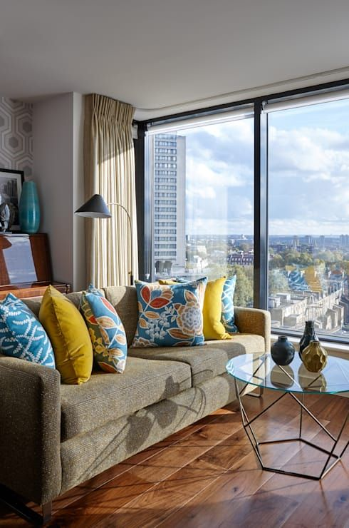 Top 7 Interior Design Trends In South Africa For 2019 Homify Blue And Yellow Living Room Brown And Blue Living Room Living Room Design Modern