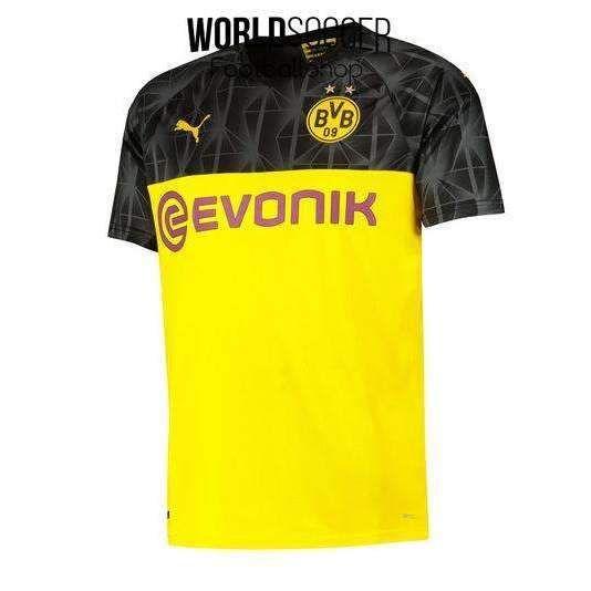 Borussia Dortmund Football Club Bvb Puma Home Cup 2019 20