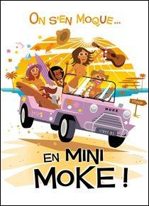 Great Mini Moke Poster!