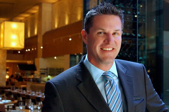 Todd Zimmerman, Bartender at YEW restaurant + bar Get To Know Us - bar manager