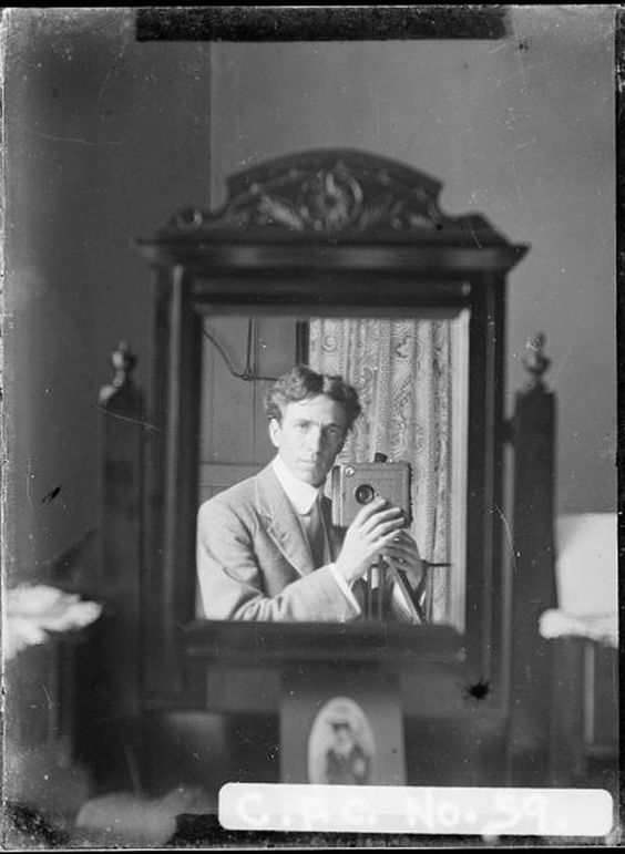 Harold Cazneau, who took this selfie in 1910, was an early adopter and one of the first artists in Australia to full explore the use of phot...