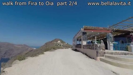 Santorini 2014 - walk from Fira to Oia part 2
