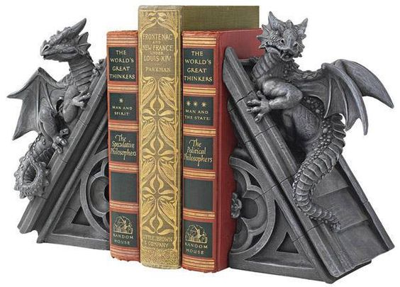 Dragon Themed Item-Bookends