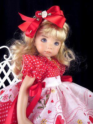 Dress FTS Effner 13 Little Darling Betsy McCall Littlecharmers Dolldesigns | eBay. Ends 1/3/14. Sold for $91.00