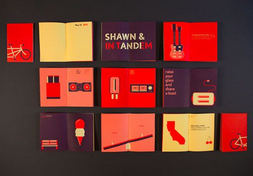 Andy Baron: Wedding Materials via Design Work Life