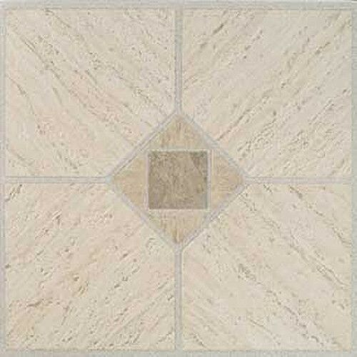 Beige Vinyl Floor Tile 36 Pcs Self Adhesive Flooring Actual 12 X 12 Vinyl Flooring Ideas Of Vinyl Flooring Vinylfl In 2020 Vinyl Flooring Vinyl Tiles Tile Floor