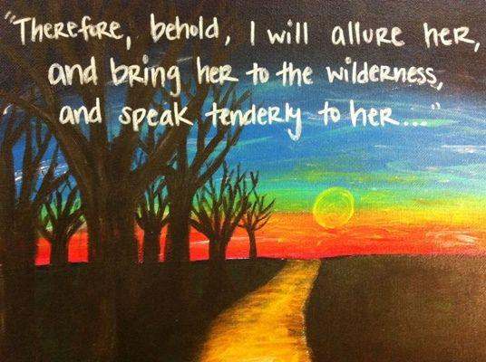 Ik YAHUWAH zal Israël lokken in de woestijn...