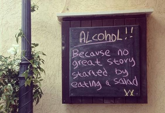 Perfect party sign haha