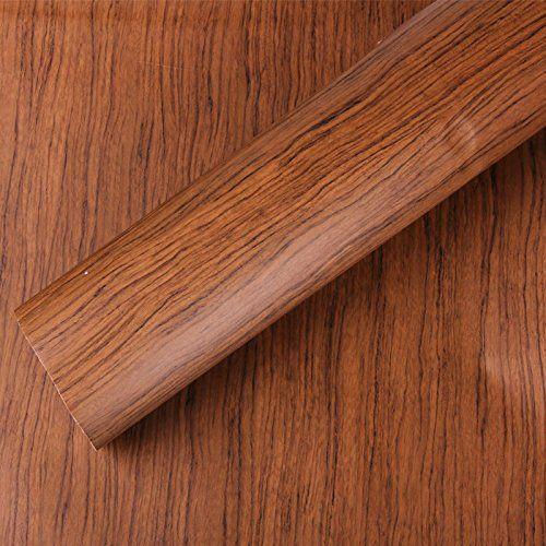 Teak Holz Strukturierte Maserung Aufkleber Vinyl Wrap Folie Sticker Aufkleber # w1355, 1.24mx15m: Amazon.de: Küche & Haushalt