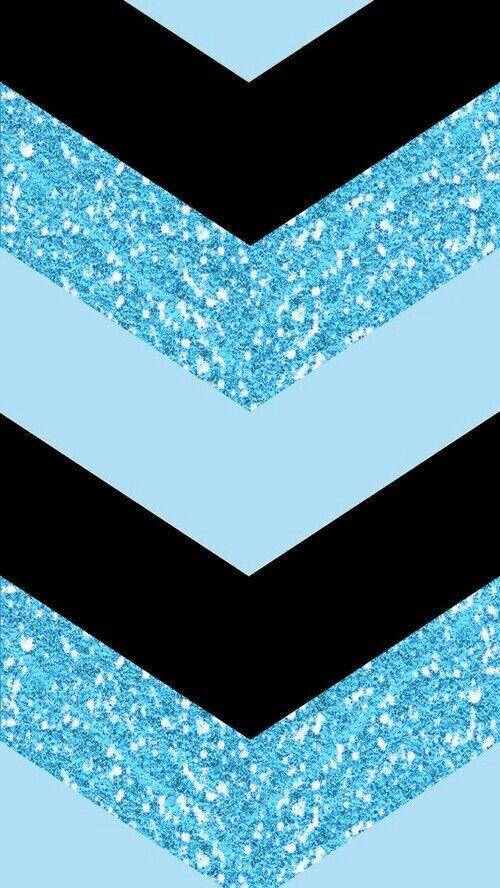 Black chevron blue chevron and wallpaper backgrounds on for Blue chevron wallpaper