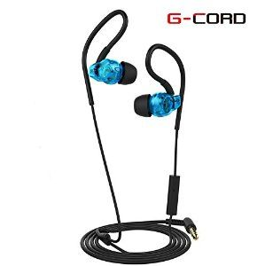 Amazon.com: G-Cord In-Ear Earbuds Noise Isolating Stereo Earphones with Mic for…