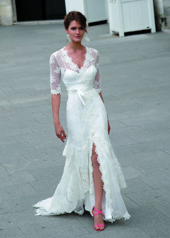 second wedding dresses this simple wedding dress for a second marriage 7288