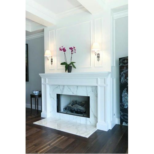 Statuario Marble Fireplace Italian Marble And Granite In 2020 Corner Gas Fireplace Living Room With Fireplace Gas Fireplace Makeover