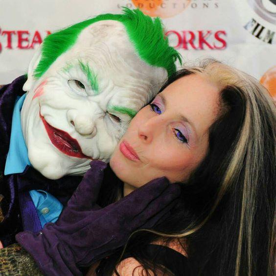 The Joker gave me a hug... Macabre Fair Film Festival #steampunkworks