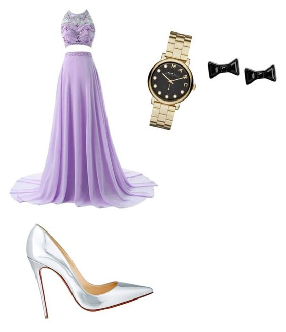 """Untitled #98"" by kristinakotenko on Polyvore featuring Christian Louboutin, Marc by Marc Jacobs, women's clothing, women, female, woman, misses and juniors"