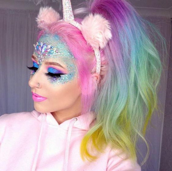halloween-unicorn-makeup-ideas
