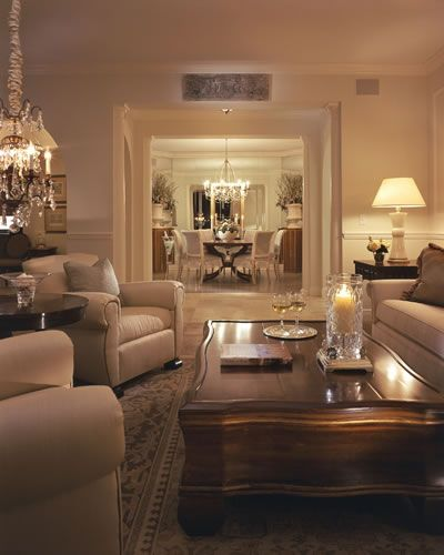 Home Design Ideas Cozy: Traditional Living Room - Trieste
