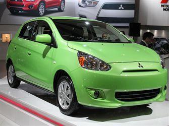 La nouvelle sous-compacte de Mitsubishi était présentée pour la première fois en Amérique du Nord - Salon de l'auto de Montréal 2013