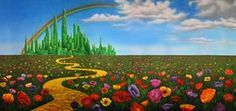 Image result for wizard of oz yellow set design