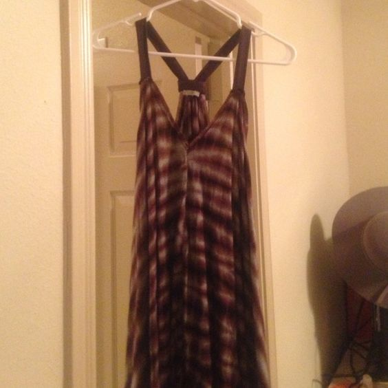 Urban Outfitters Ecote Dress Beautiful purple black and grey tie dyed swing Dress from Urban Outfitters,brand new never worn! Very Flattering for all body types! Urban Outfitters Dresses Midi