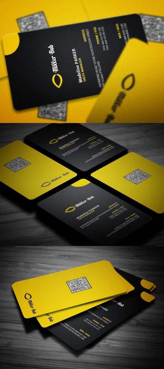 Miller Bob Corporate Business Card - Business Cards on Creattica ...