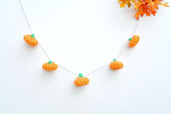 Teeny pumpkin patterns might just be the cutest crochet idea yet. Get the tutorial at Mama In a Stitch »  - GoodHousekeeping.com