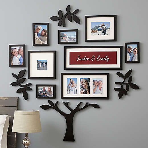 Collage Frames Collage Picture Frames Collage Photo Frames Bed Bath Beyond Family Wall Decor Family Pictures On Wall Personalized Picture Frames