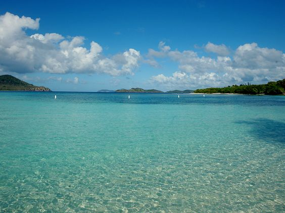 Every day should be a beach day. St. Thomas.