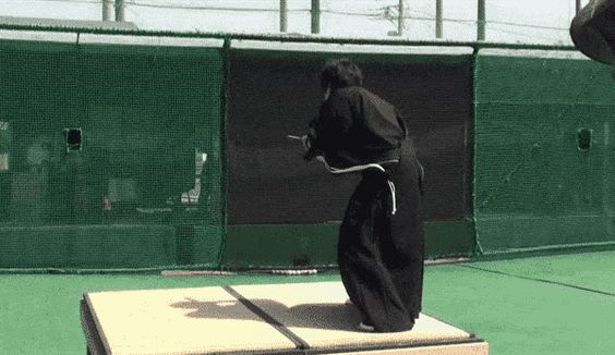 Satisfying Video of the Day: Samurai Chops 100 mph Fastball