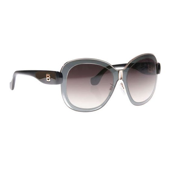 Balenciaga - Sonnenbrille mit oversized Gläsern ► Die Sonnenbrille von BALENCIAGA ist im TOP modischen Design gehalten und zeigt sich als unverzichtbares Essential. Nicht nur als Sonnenschutz, sondern auch als trendiges Accessoire bringt Sie dieses Stück perfekt durch den Sommer.
