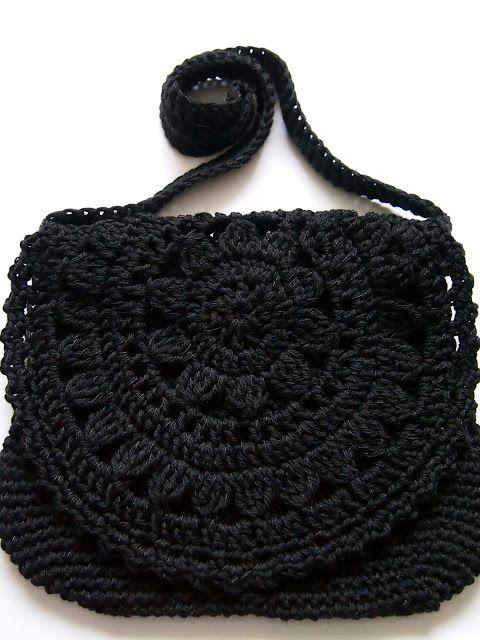 Bag Crochet : Cute crochet bag Crafts Pinterest Bolsos, CrochE y Bolsos de ...