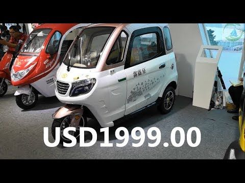 Ji003 Electric Trike For 3 Passenger Youtube In 2020 Electric Trike Small Electric Cars Bike Transporting