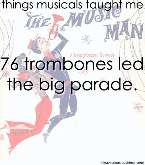 With a hundred and ten cornets close at hand! They were followed by rows and rows of the finest virtuoes! The cream of every famous band!