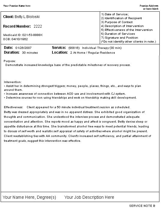 Counselling Session Notes Template Costumepartyrun - Counselling notes template