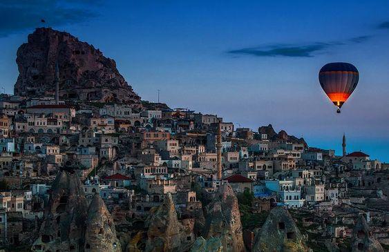 Uçhisar, Nevşehir, Turquía