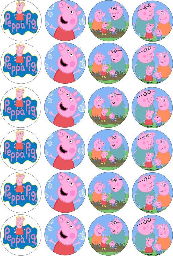 Peppa Pig: Lembrancinhas para Festa da Peppa Pig: