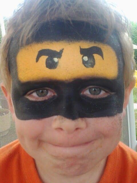 Ausmalbilder Ninjago Gesicht: Fave Faces By Others