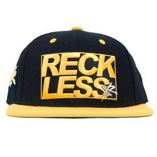 Young & Reckless - RECKLESS PATCH- BLACK/ YELLOW