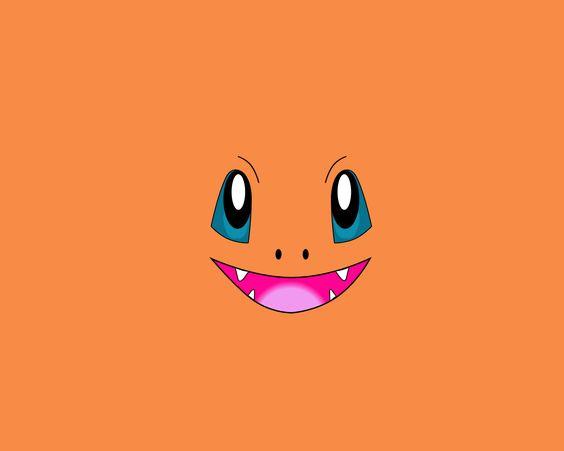 Charmander face wallpaper pokemon pinterest papiers for Lai papier peint deco