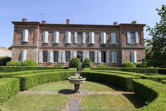 #Agence #Mercure France - Vente maison de maître GENSAC SUR GARONNE - 11833vm