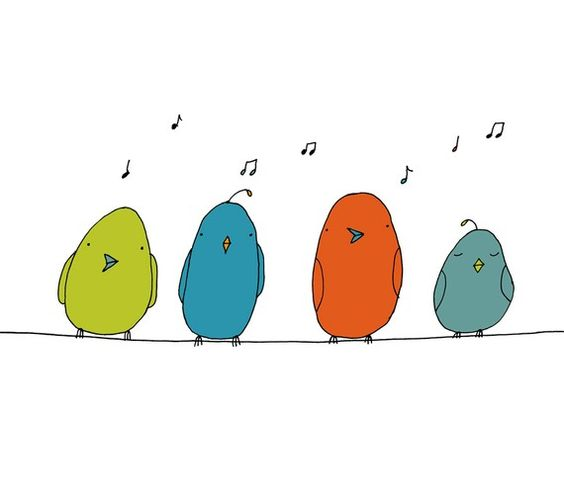 Happy birdies: