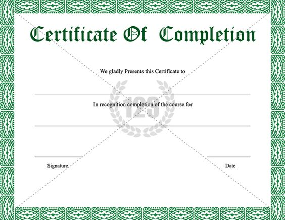 Image result for certificate of participation template editable - certificate of completion of training template