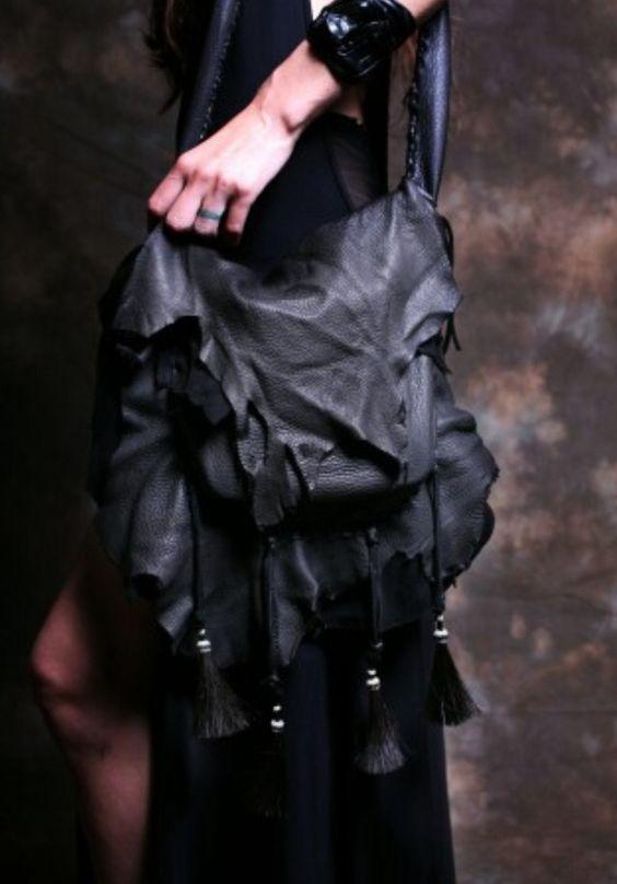 Heyoka Leather x Sisters of The Black Moon Ceremony Bag