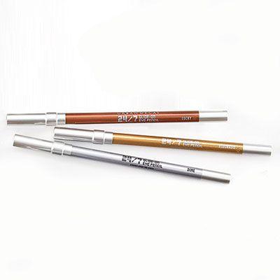 Metallic Makeup: Urban Decay 24/7 Glide-On Eye Pencils in Lucky, Dime, and EIDorado, $19 each