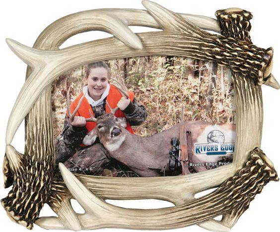 hunting frames antler picture frame 4x6